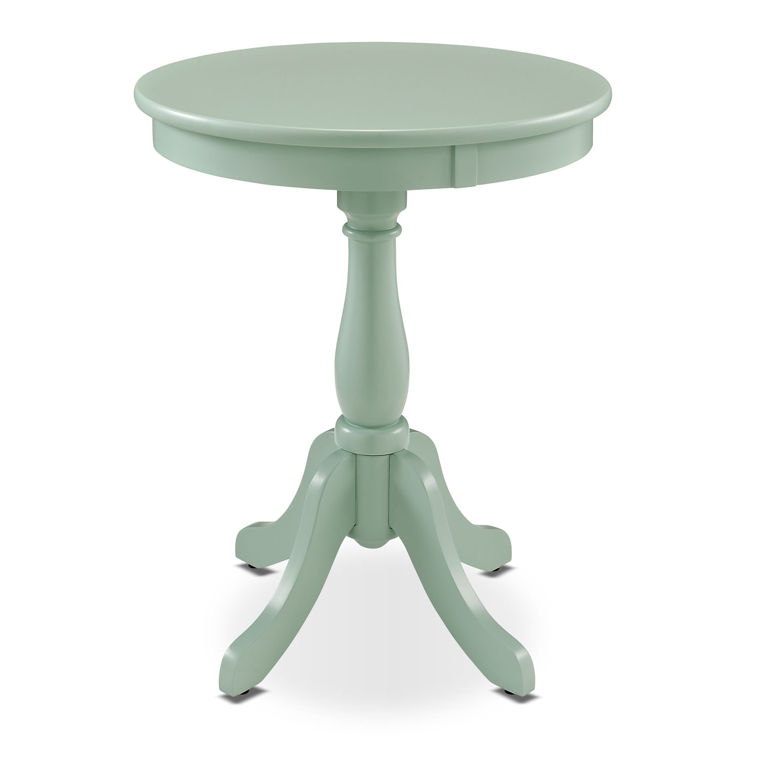 Aron Side Table - Aqua