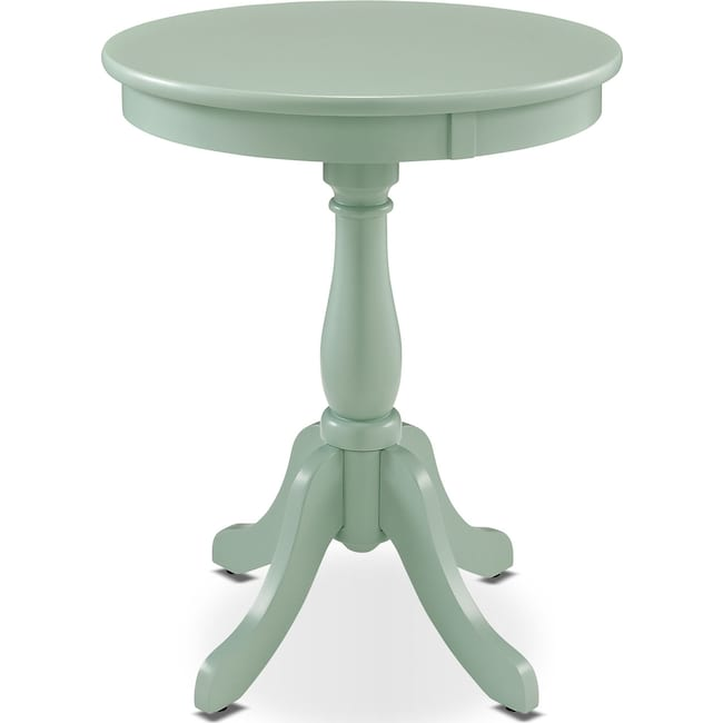 Accent and Occasional Furniture - Aron Side Table - Aqua