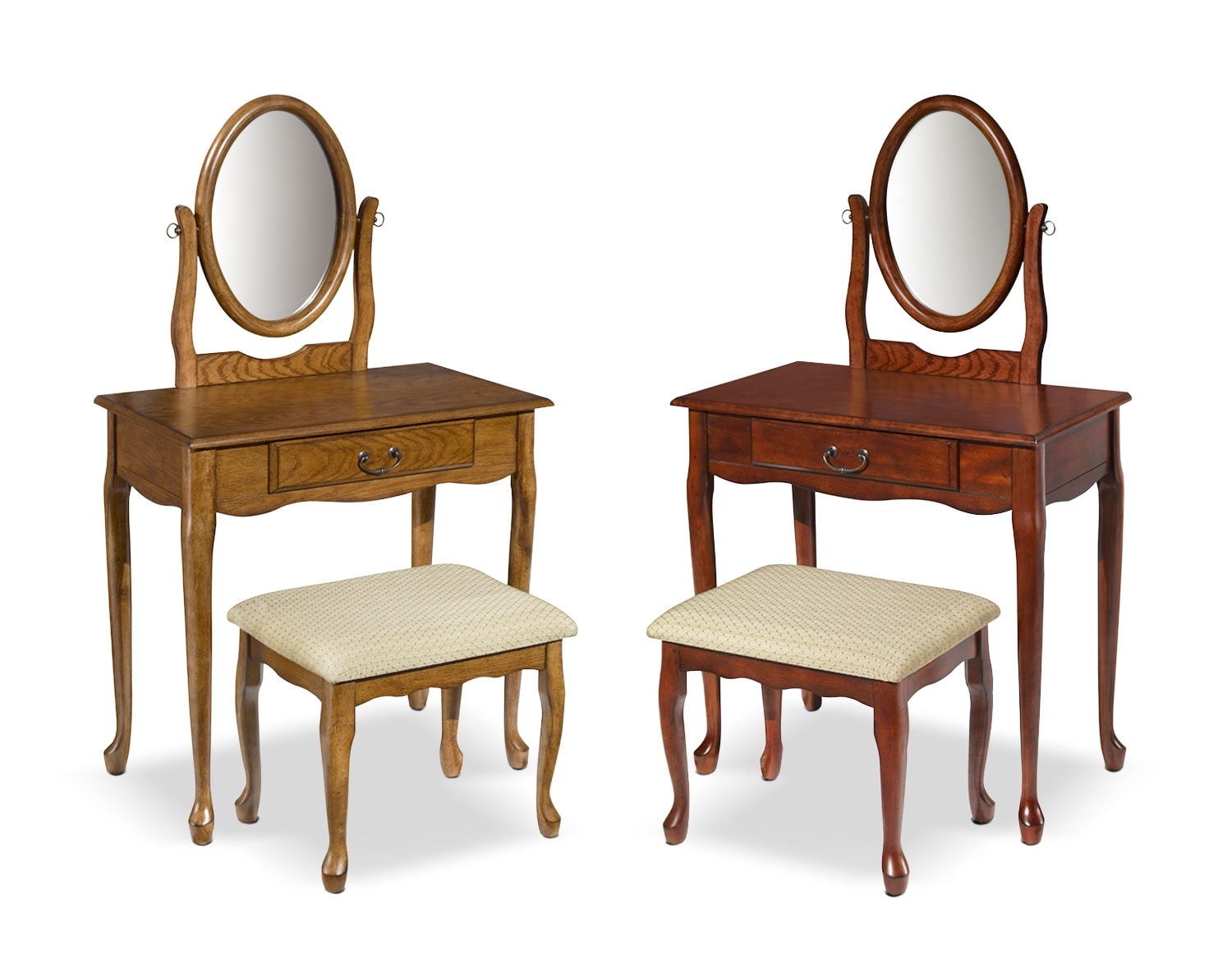 The Gracie Vanity and Stool Collection