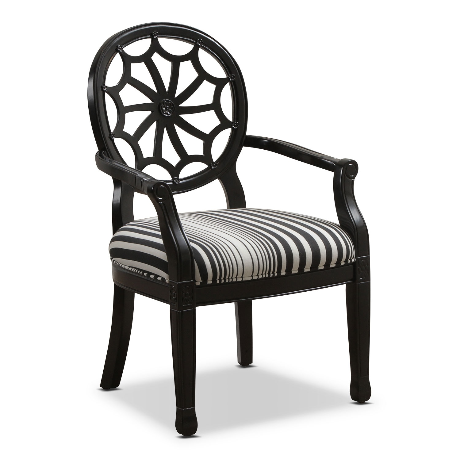 Willa Accent Chair - Black