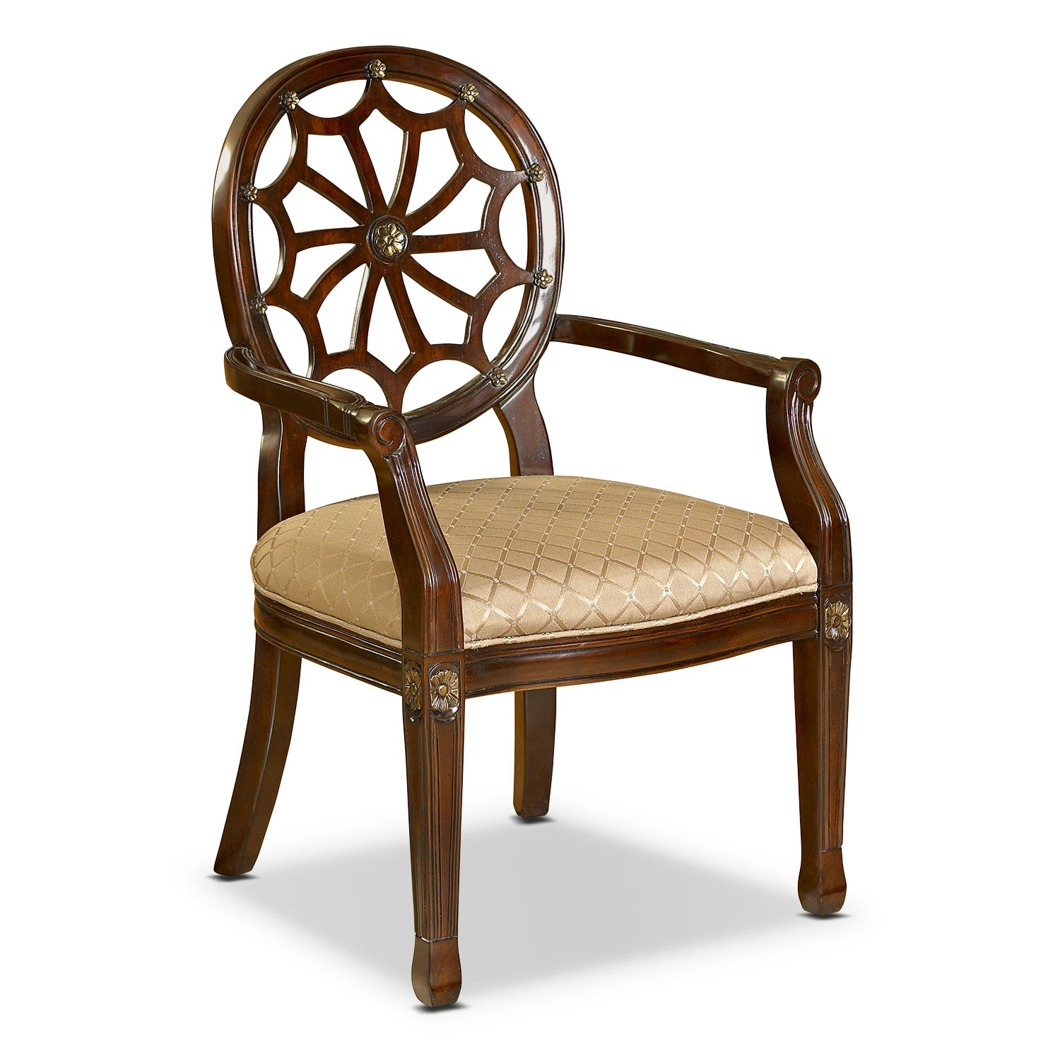 Living Room Furniture - Vicola Accent Chair
