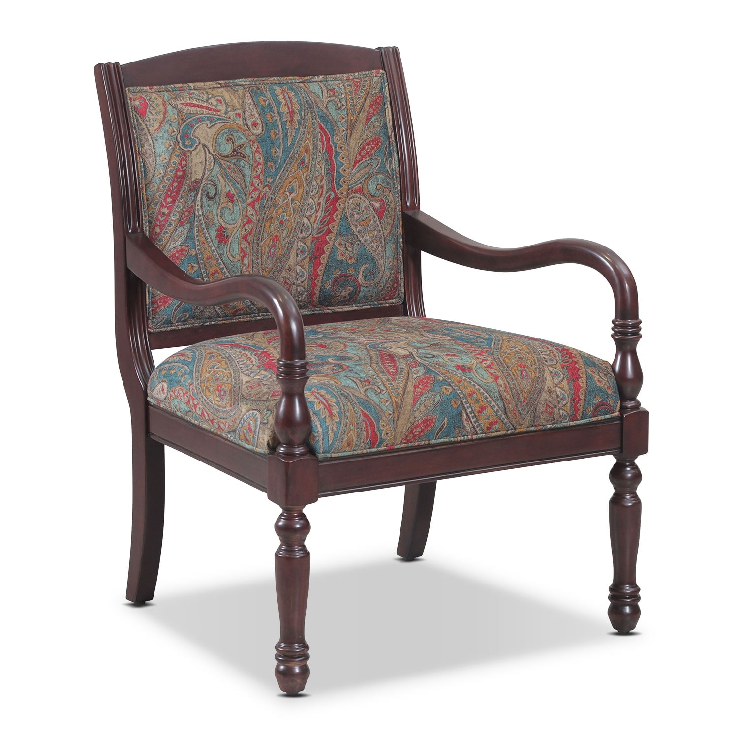 Cadence Accent Chair   Paisley
