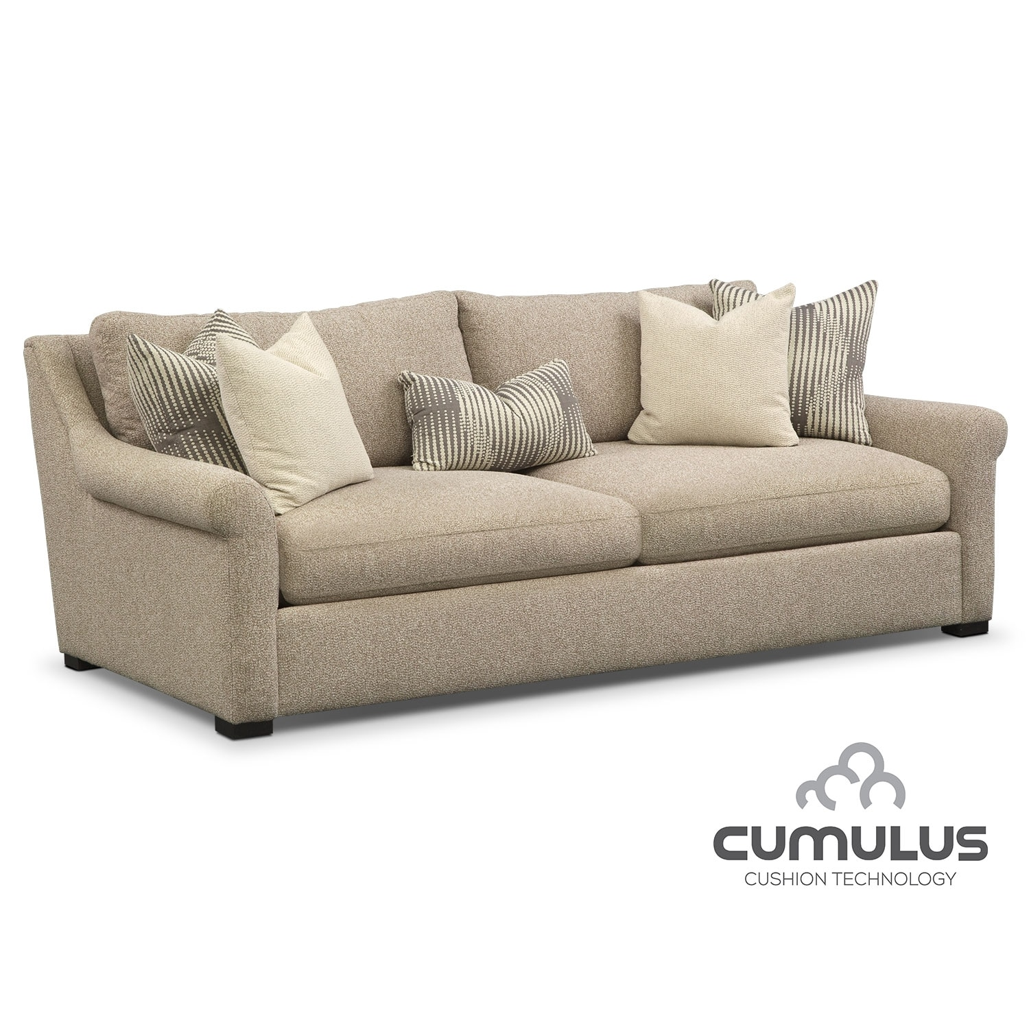 Living Room Furniture Robertson Ulus Sofa Beige