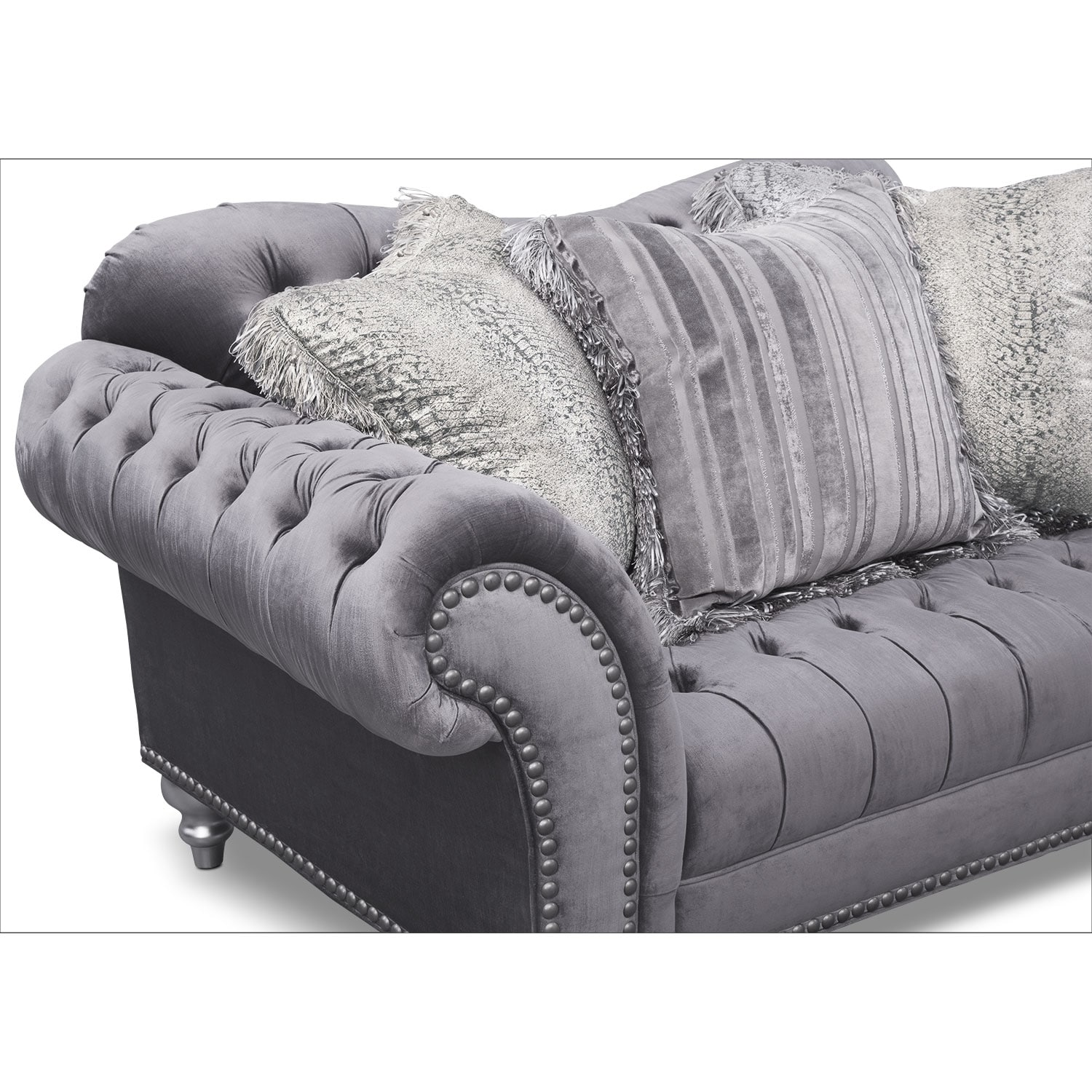 Click to change image.  sc 1 st  Value City Furniture : sofa loveseat and chaise set - Sectionals, Sofas & Couches