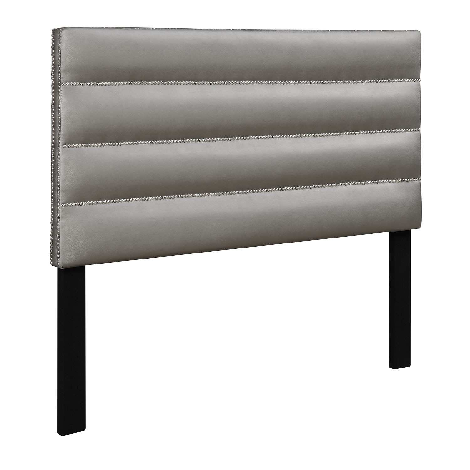 Kids Furniture - Ellie Full Headboard - Silver