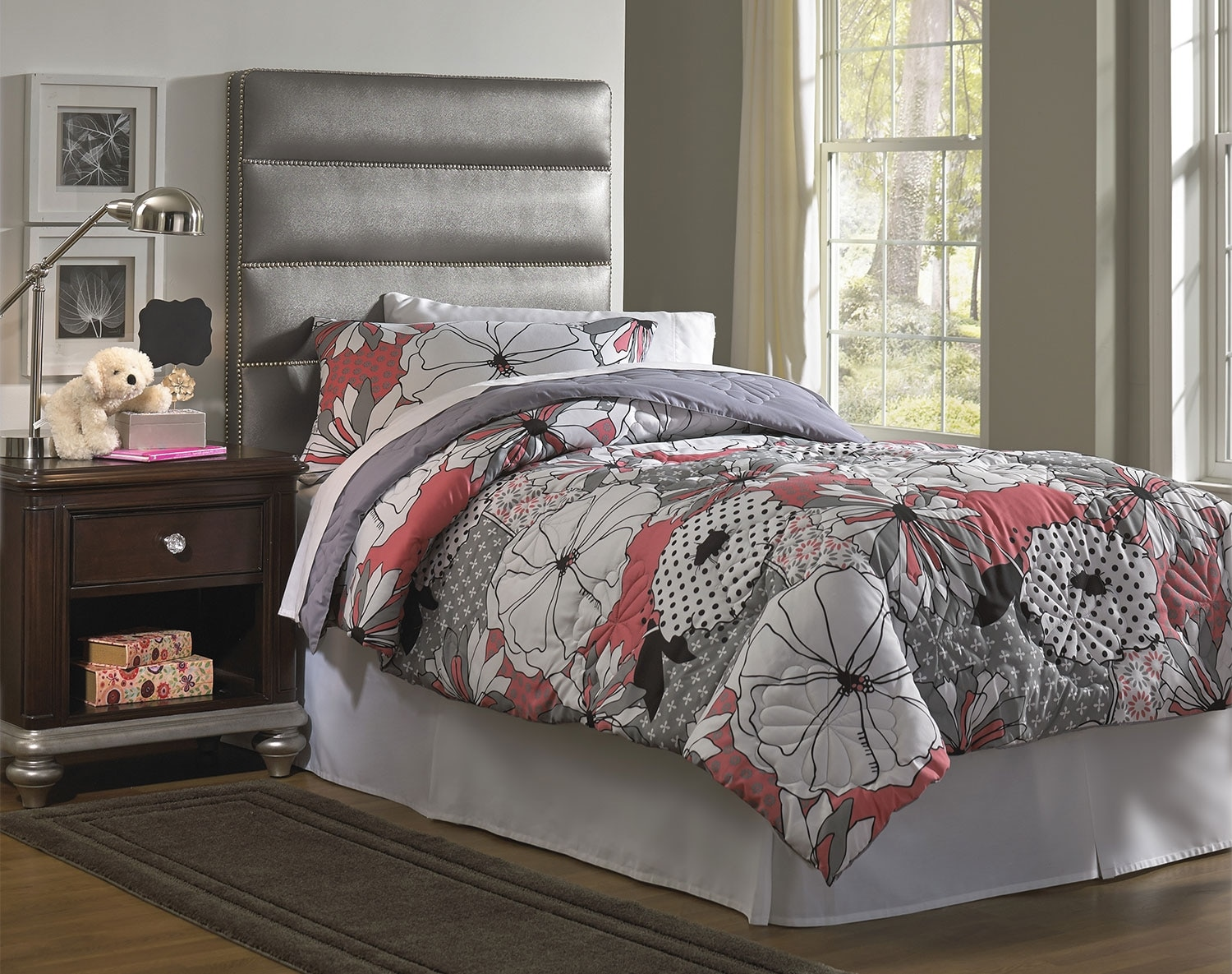 The Ellie Upholstered Headboard Collection