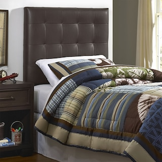 Xavier Twin Headboard - Brown