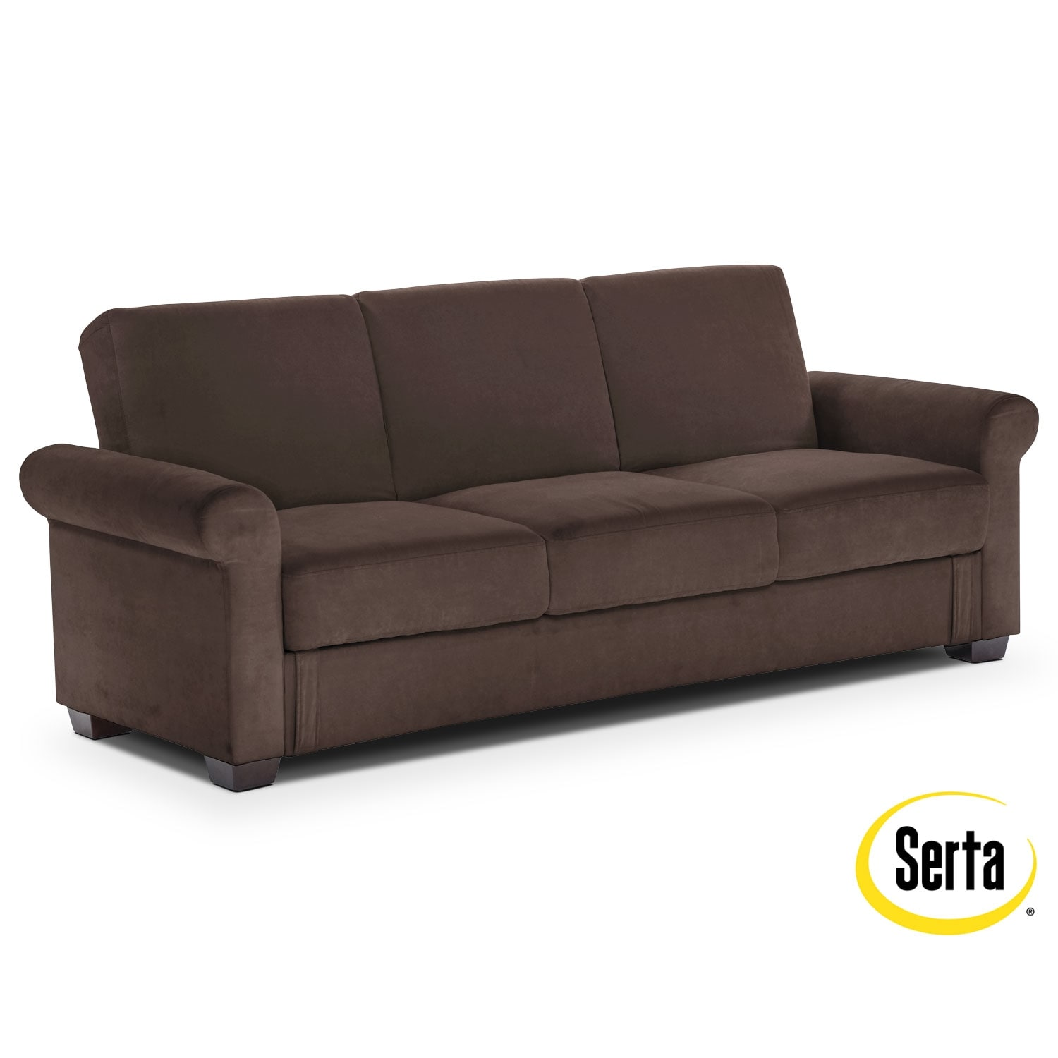 Living Room Furniture - Thomas Futon Sofa Bed with Storage
