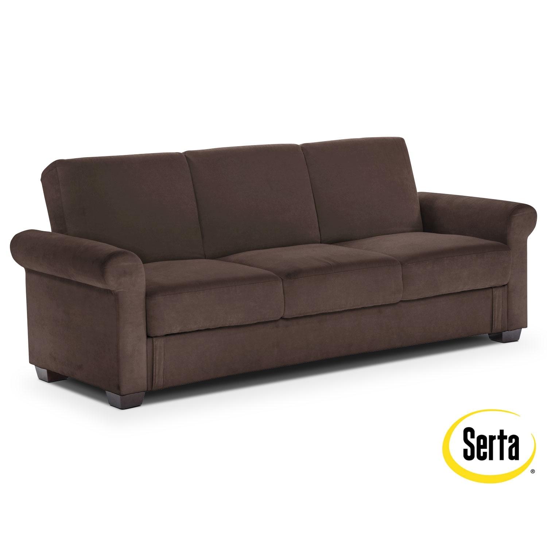 Thomas Futon Sofa Bed With Storage   Java