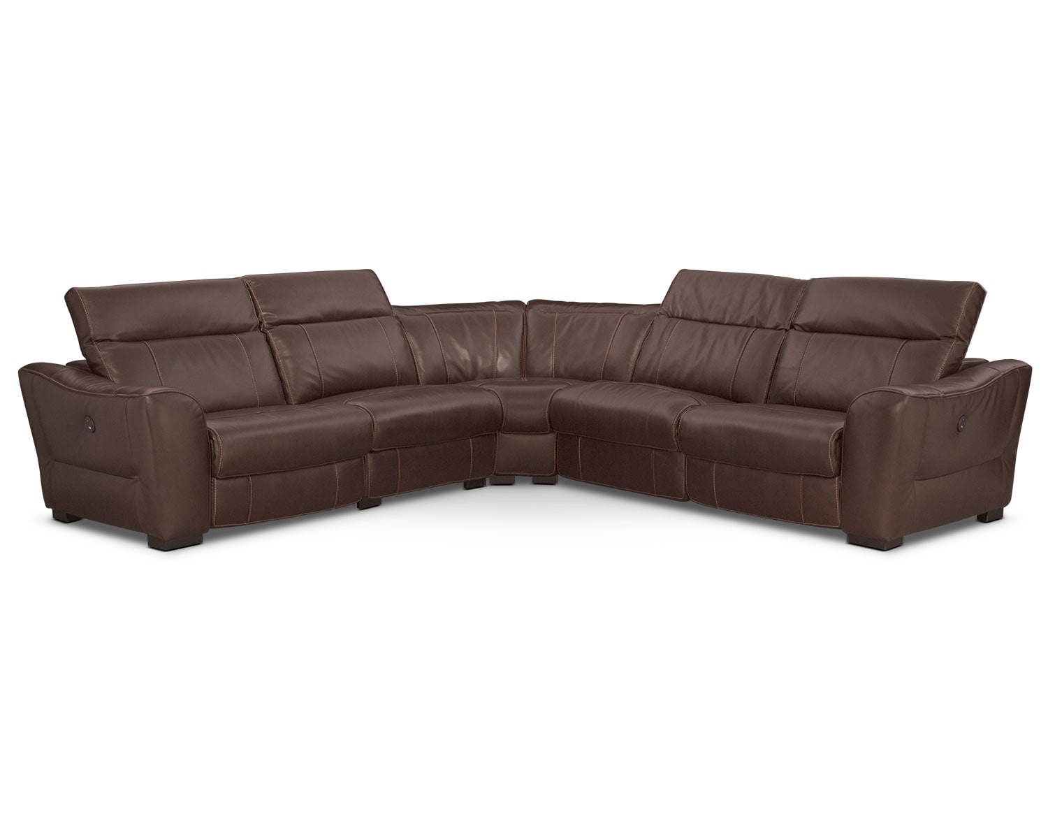 The Palisade Brown Sectional Collection