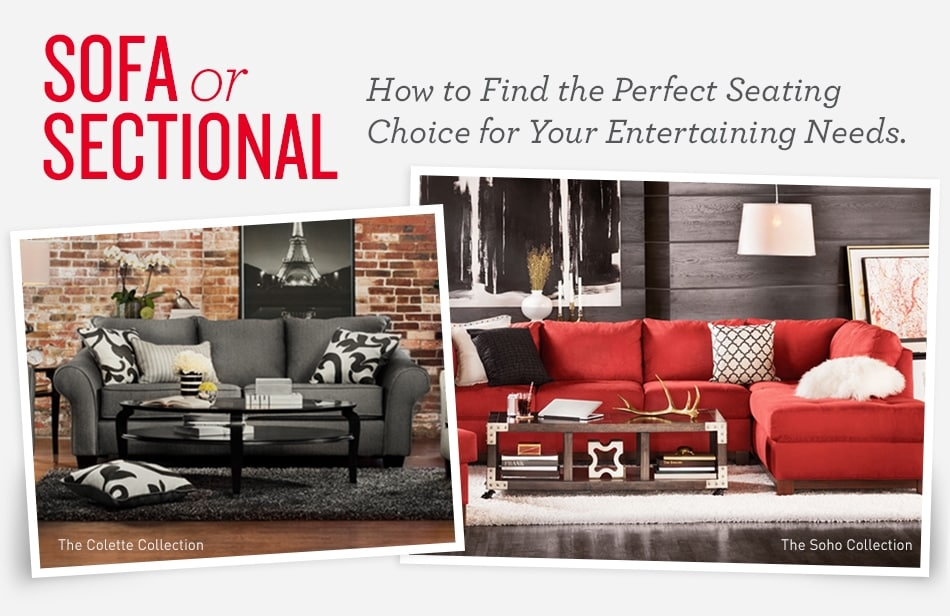 Tips for Choosing Between a Sofa or Sectional