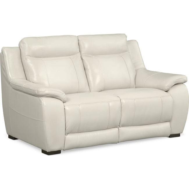 Living Room Furniture - Lido Loveseat - Ivory