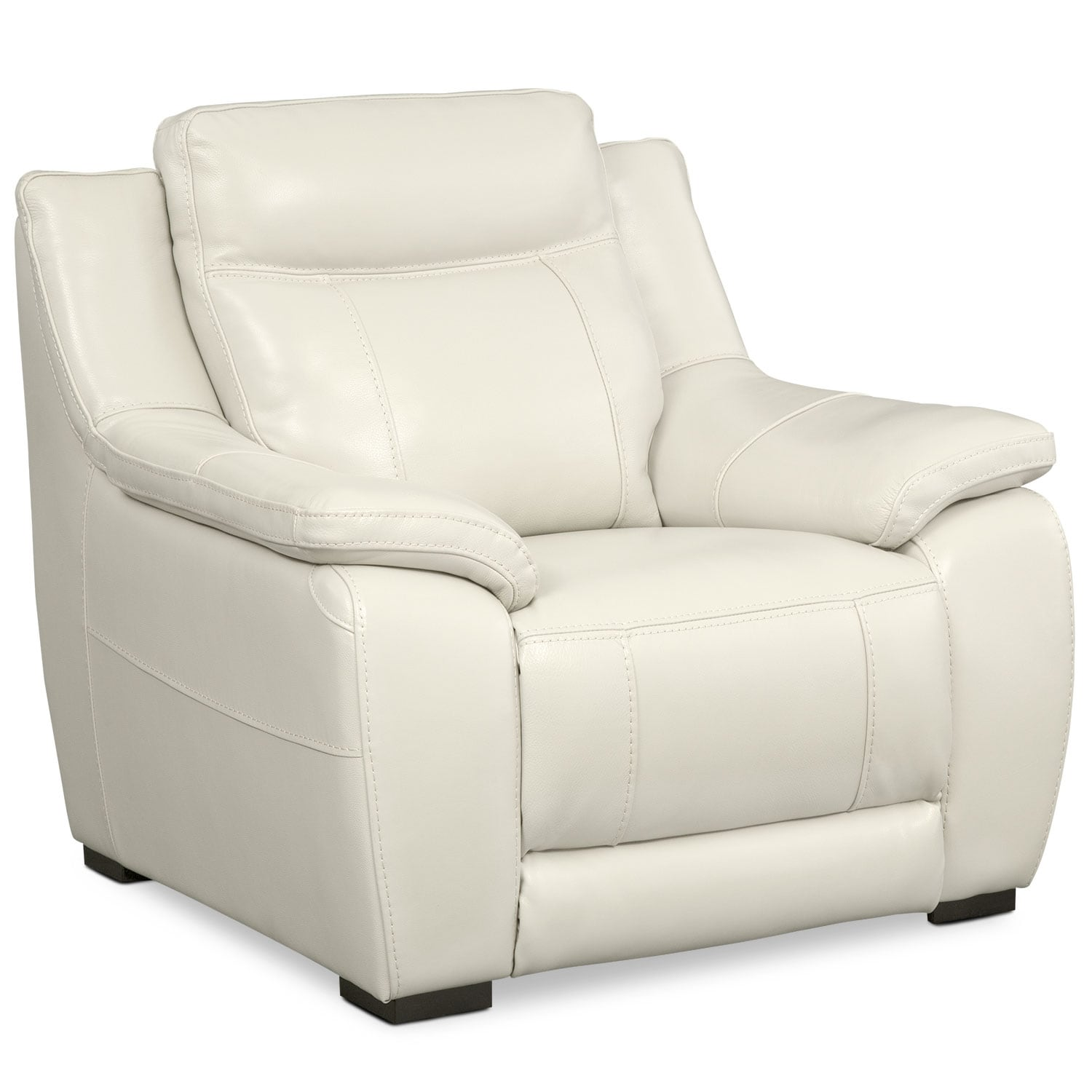 Living Room Furniture - Lido Chair - Ivory