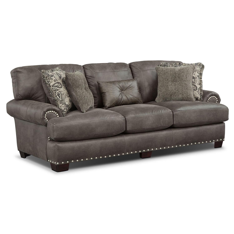 Living Room Furniture - Burlington Steel Sofa