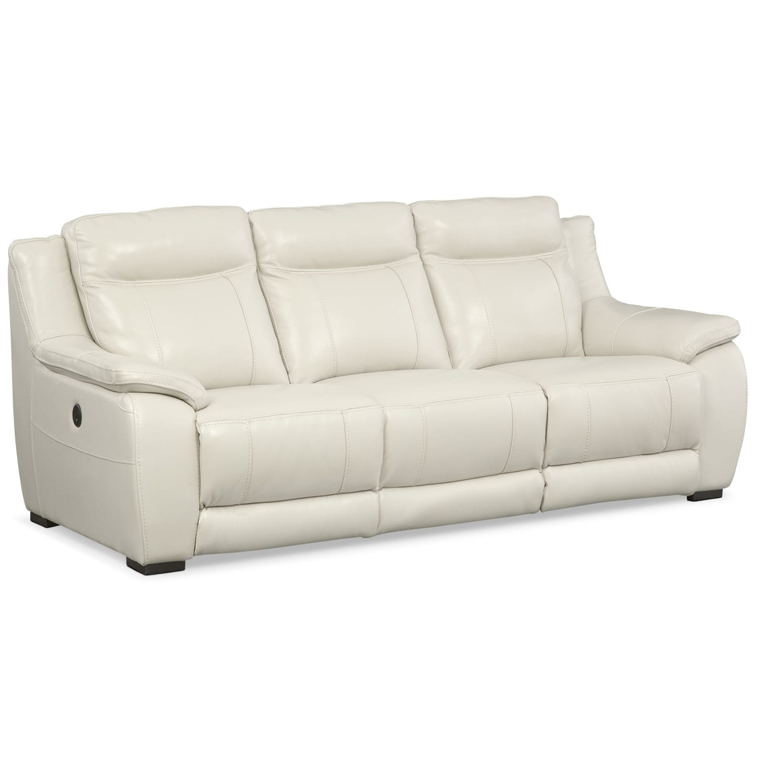 Living Room Furniture - Lido Ivory Power Reclining Sofa
