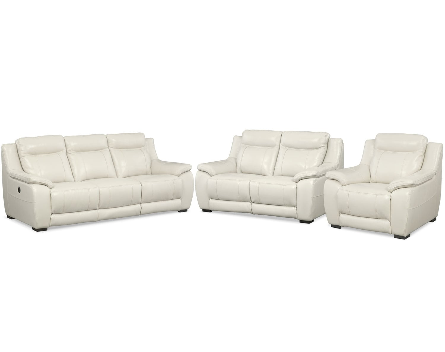 The Ivory Power Reclining Collection Ivory