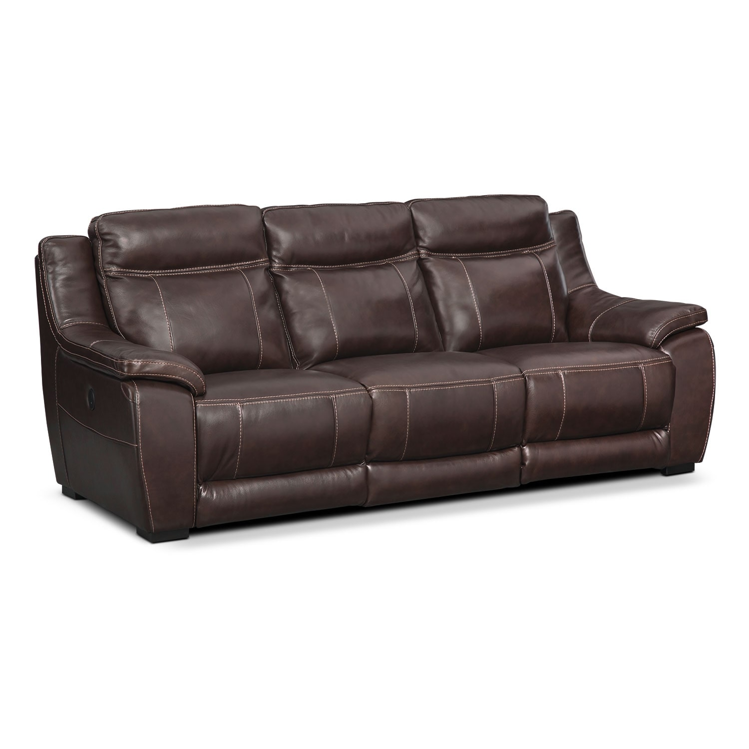 Hover to zoom  sc 1 st  Value City Furniture & Lido Power Reclining Sofa - Brown | Value City Furniture islam-shia.org