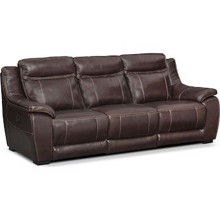 Lido Reclining Sofa Brown