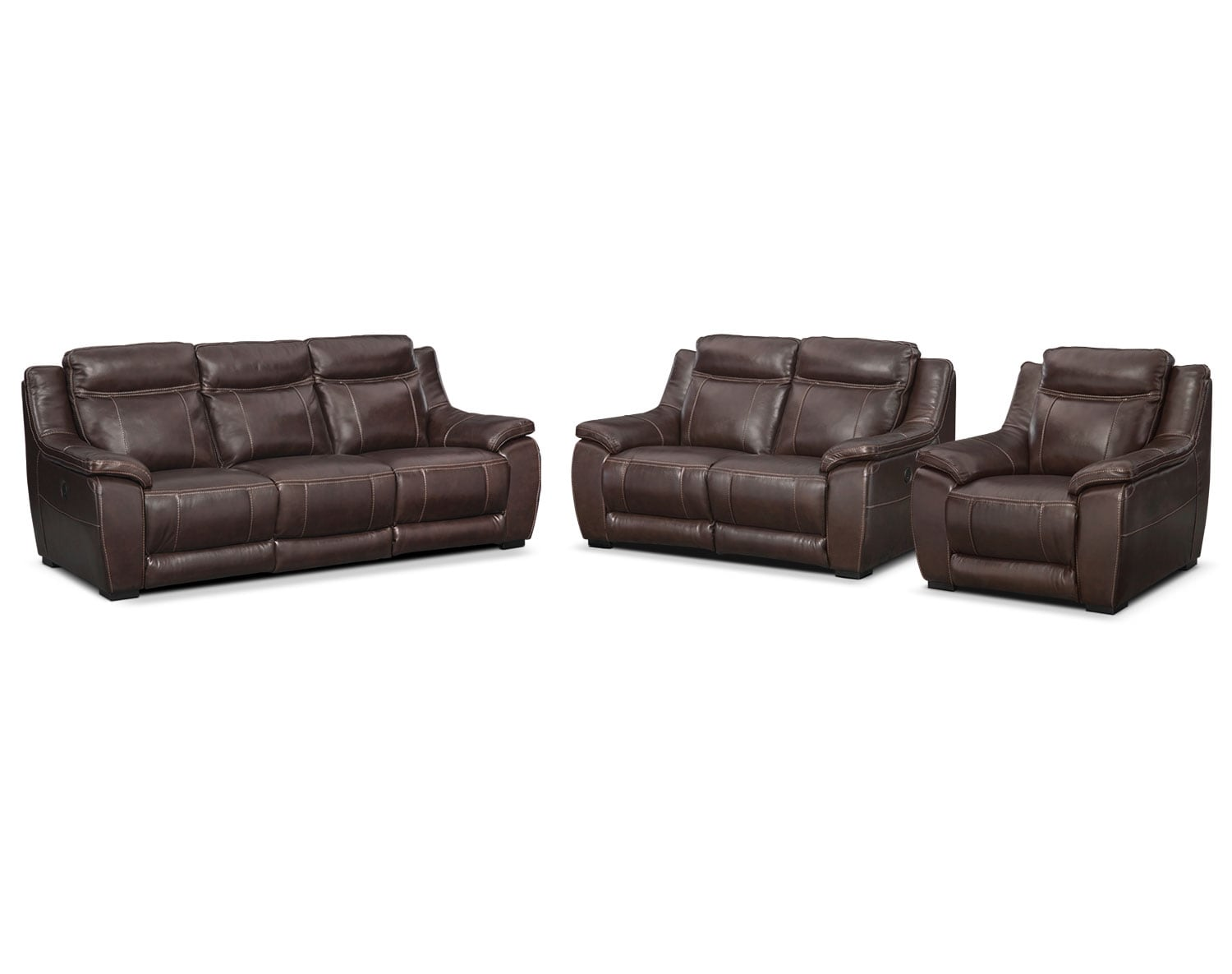The Lido Brown Power Reclining Collection