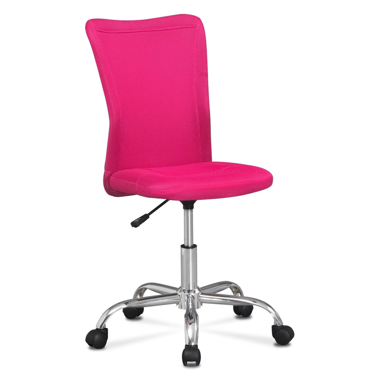 Mist Desk Chair Pink