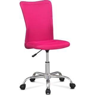 Mist Desk Chair - Pink