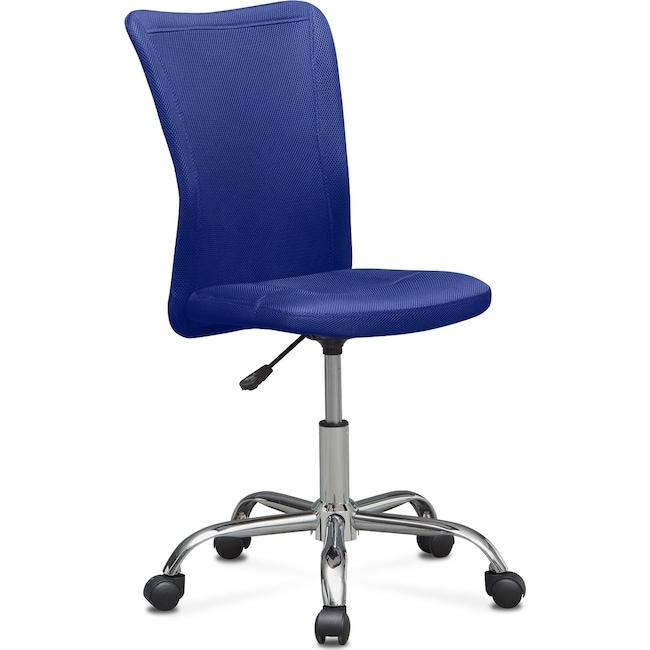 Kids Furniture - Mist Desk Chair - Blue