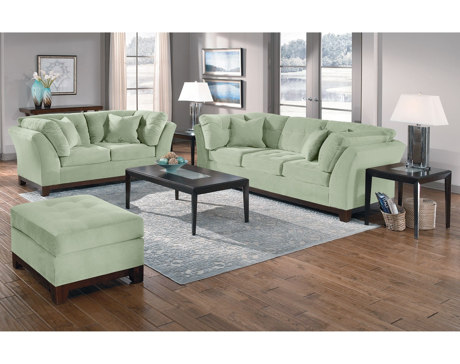 The Sebring Living Room Collection - Spa
