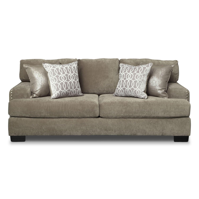 Tempo Sofa Platinum