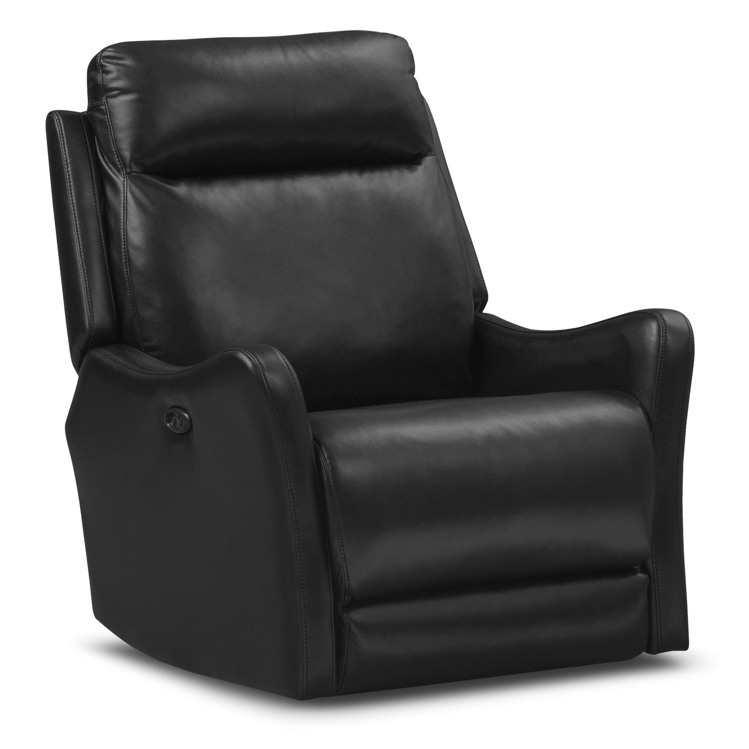Enzo Power Recliner - Black