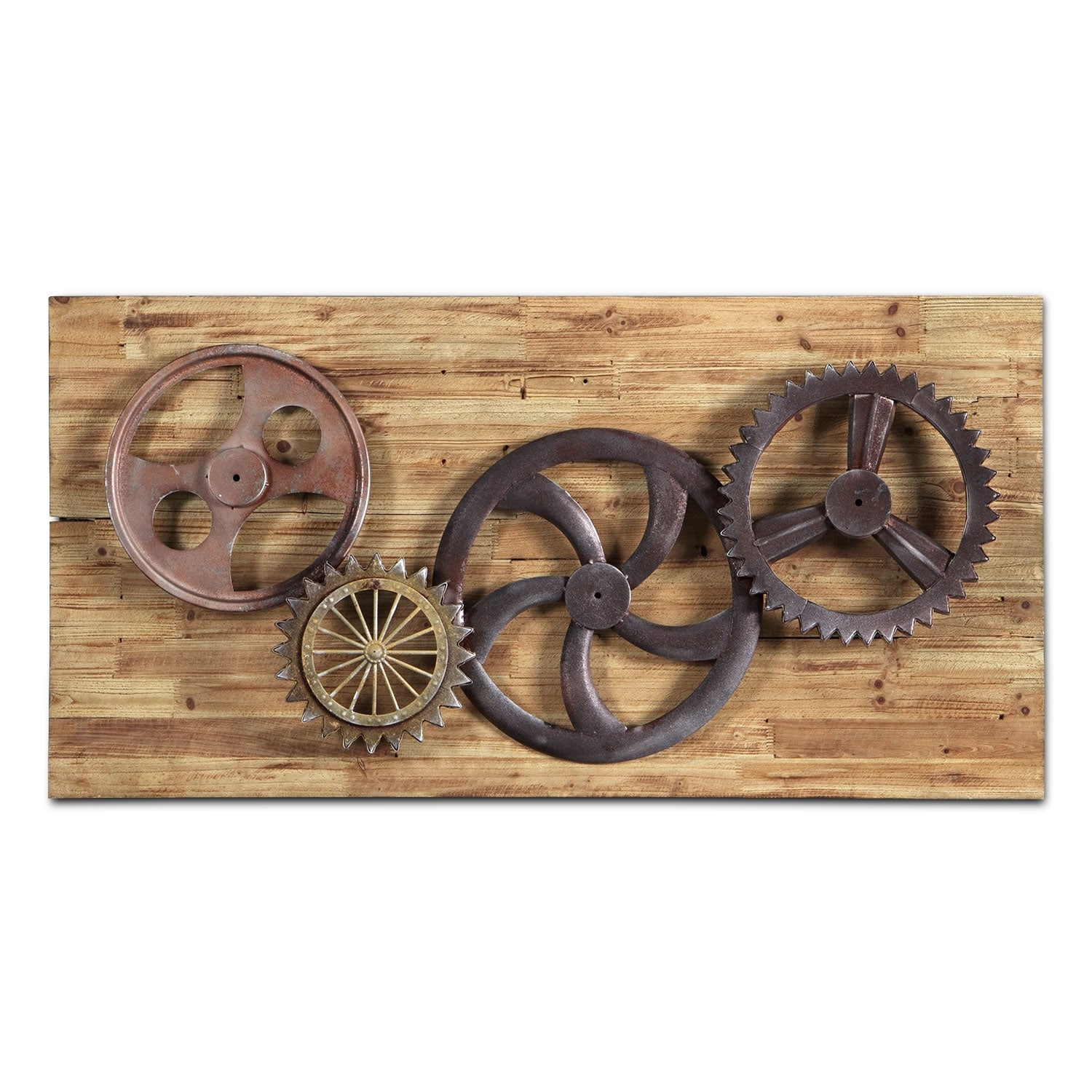 Home Accessories - Industrial Gears Wall Décor
