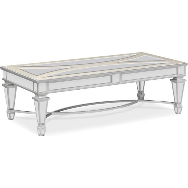 Accent and Occasional Furniture - Royale Cocktail Table - Mirror