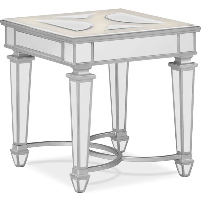 Accent and Occasional Furniture - Royale End Table - Mirror