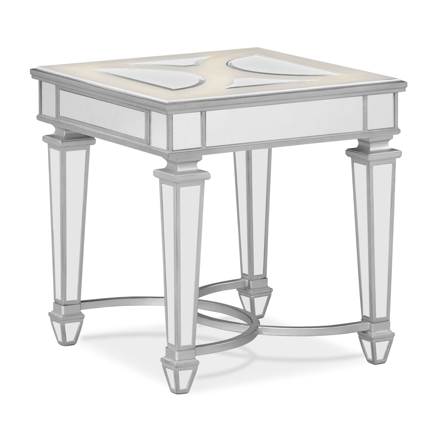 Charming Accent And Occasional Furniture   Royale End Table   Mirror