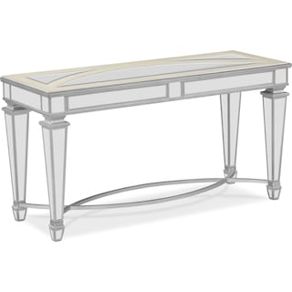 Royale Sofa Table - Mirror