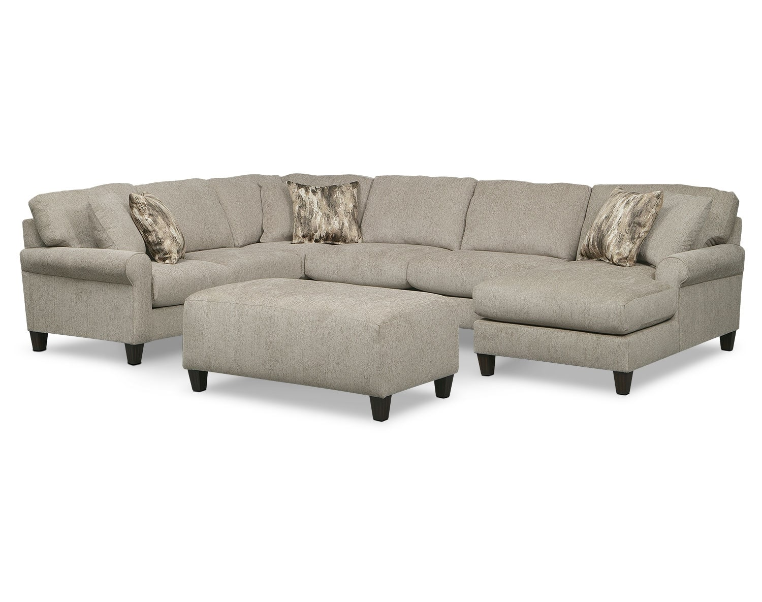 The Karma Mink Sectional Collection