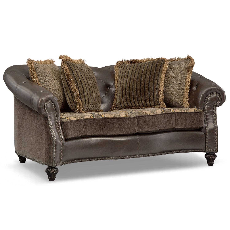 Living Room Furniture - Nicholas Loveseat