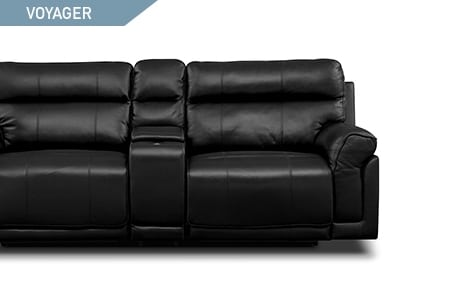 Shop the Voyager 5 piece power reclining sectional