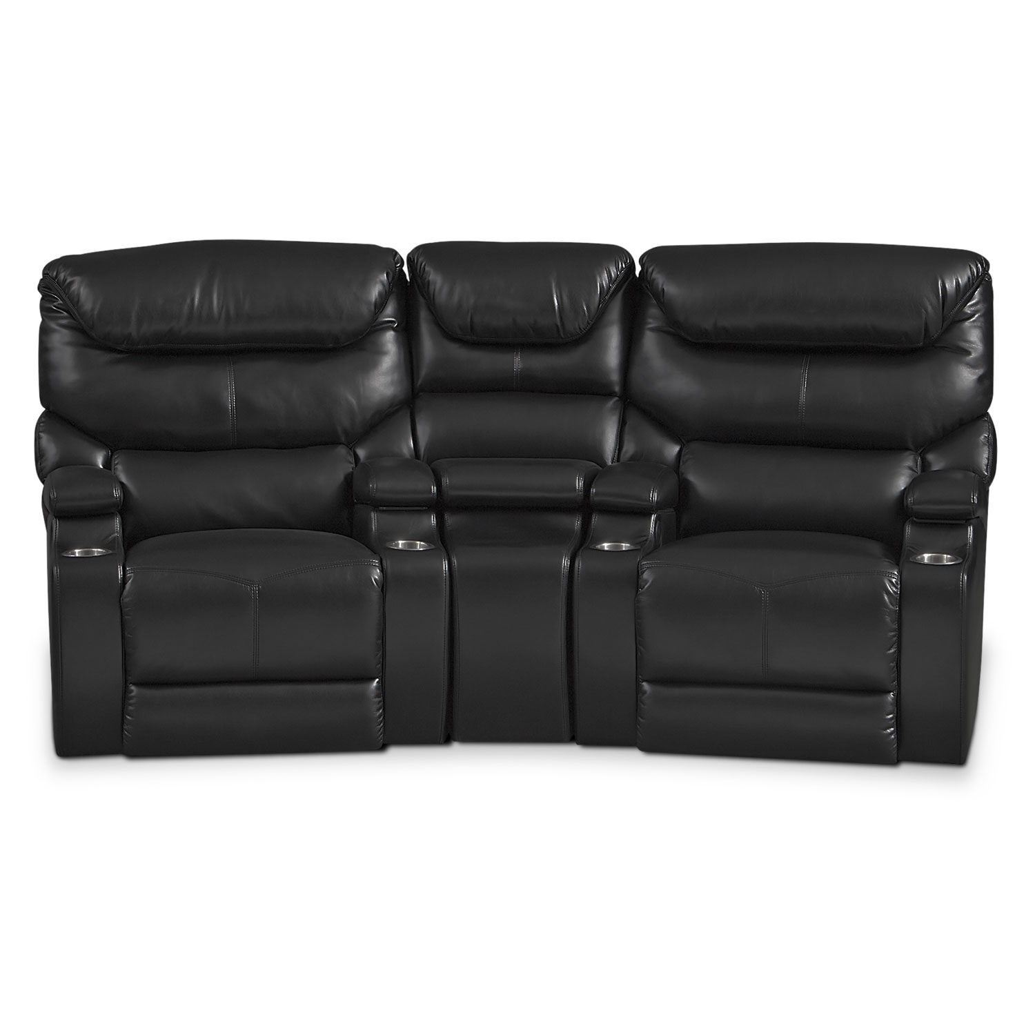 home mainstays in recliners arm convenient storage recliner walmart f with theater
