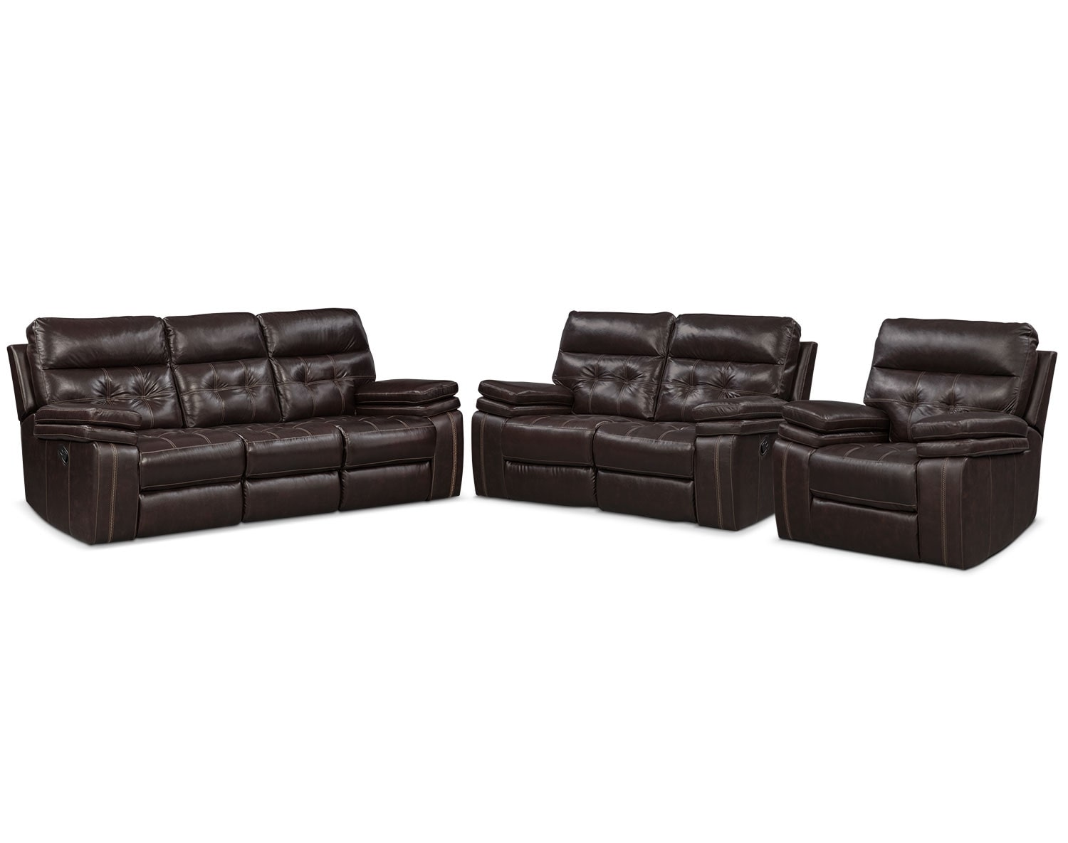The Brisco Brown Manual Reclining Collection
