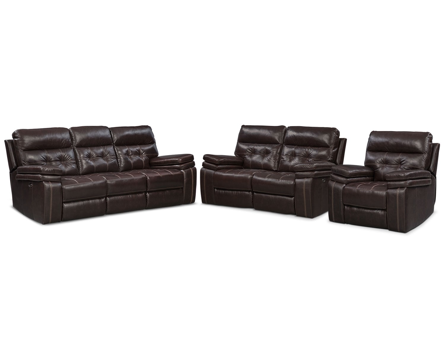 The Brisco Brown Power Reclining Collection