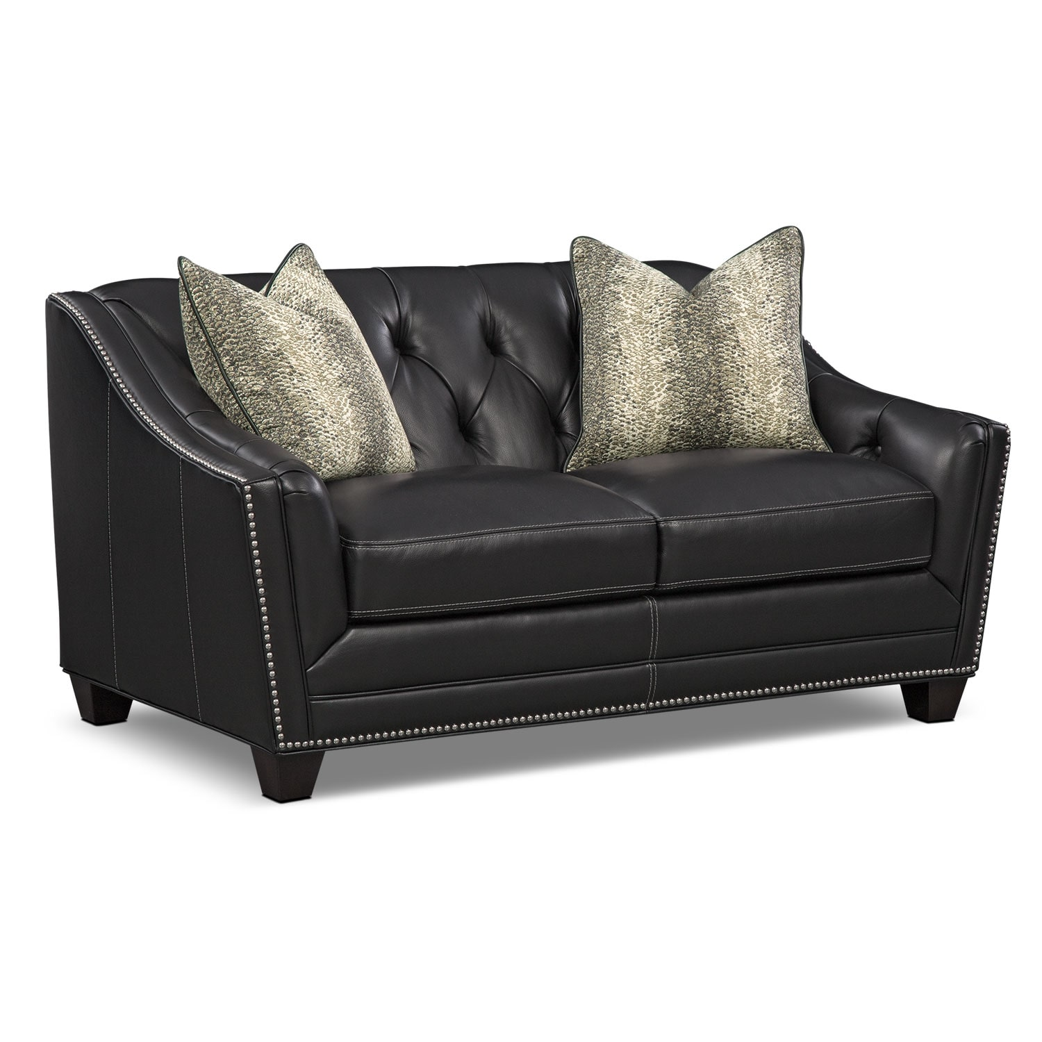 [Alexis Midnight Loveseat]