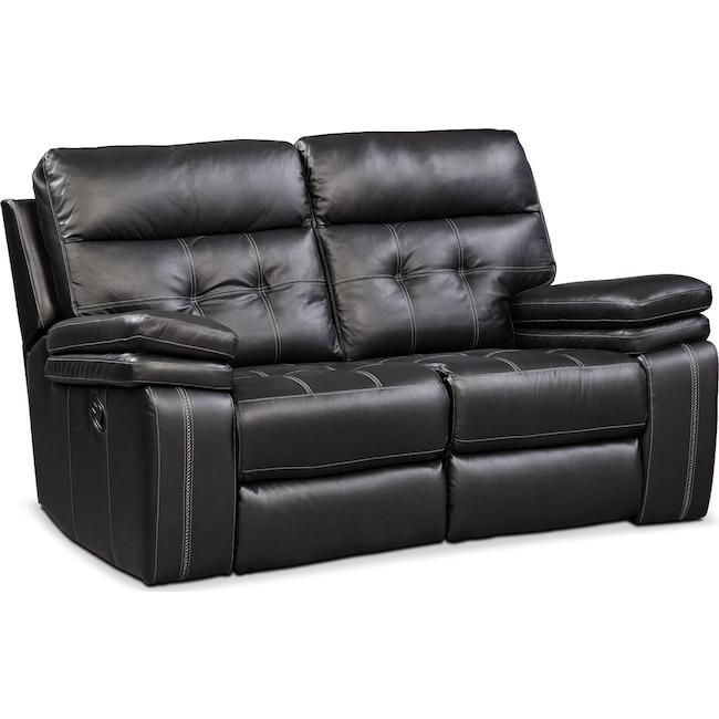 Living Room Furniture - Brisco Manual Reclining Loveseat