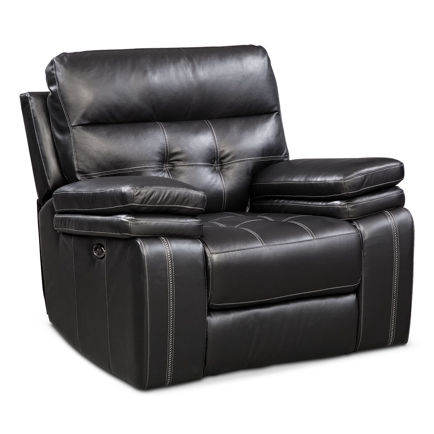 Brisco Power Glider Recliner   Black