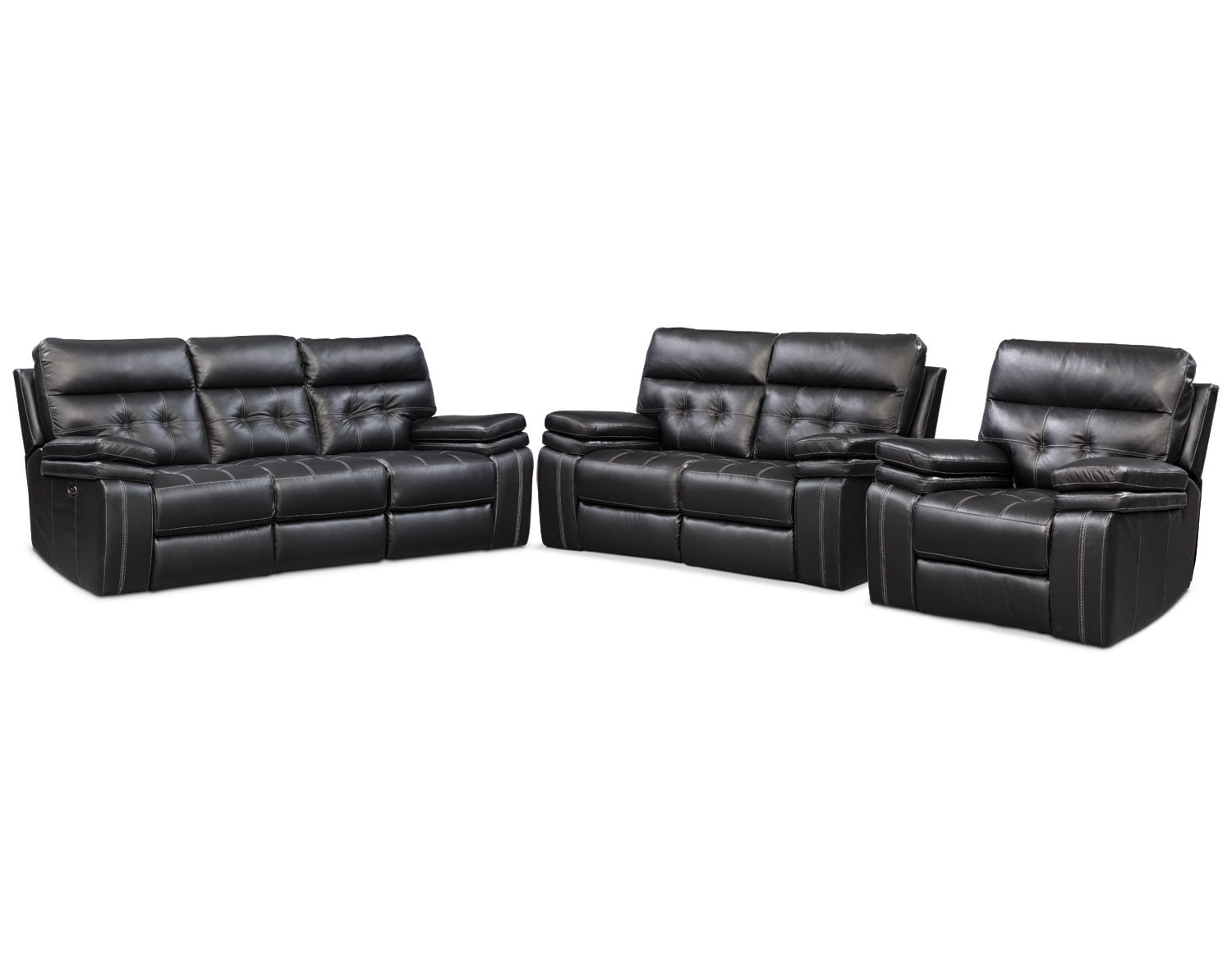 [The Brisco Black Power Reclining Collection]