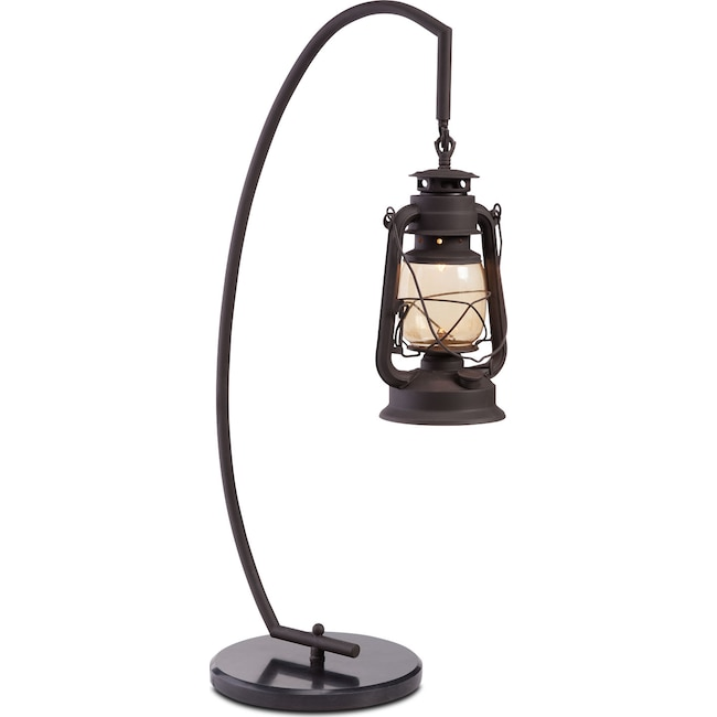 Lantern table lamp value city furniture and mattresses home accessories lantern table lamp mozeypictures Image collections