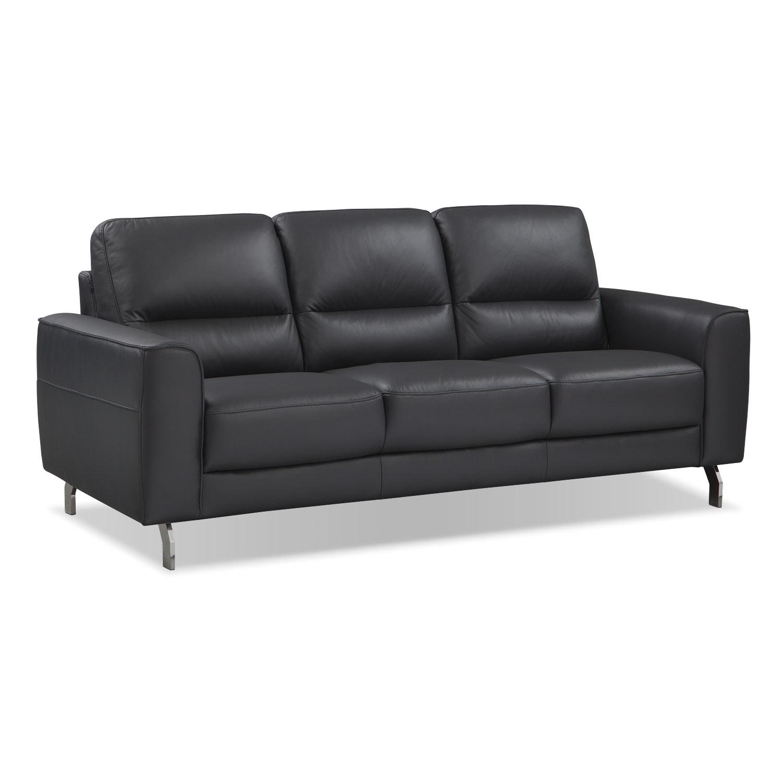 Venice Black Sofa