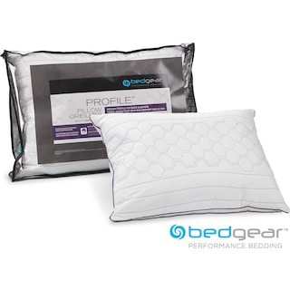 Queen Profile Pillow for Back Sleepers