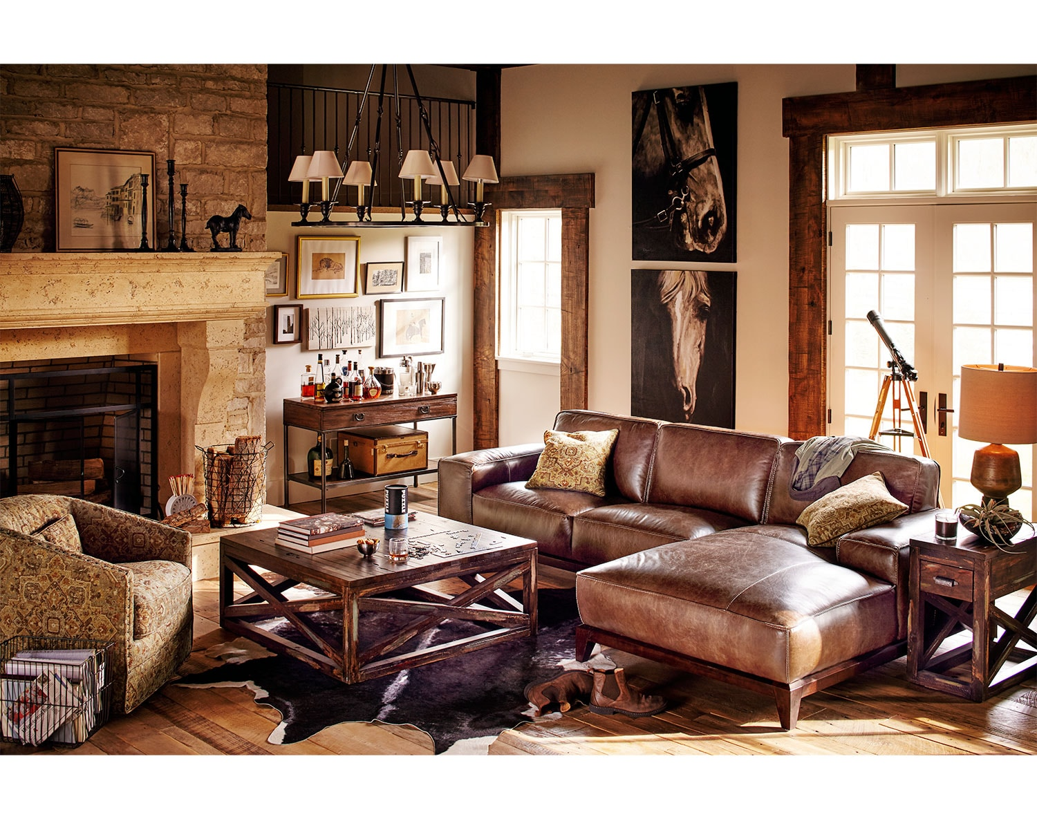 The Harrison Sectional Collection