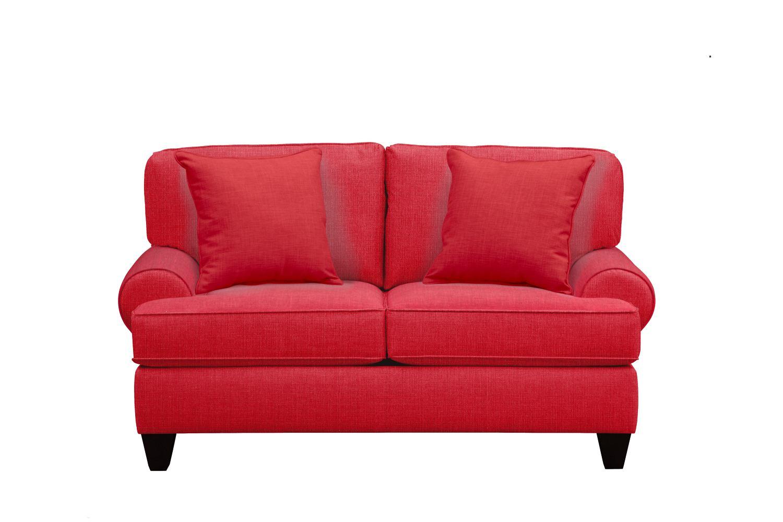 "Bailey Roll Arm Sofa 67"" Depalma Cherry W/ Depalma Cherry"