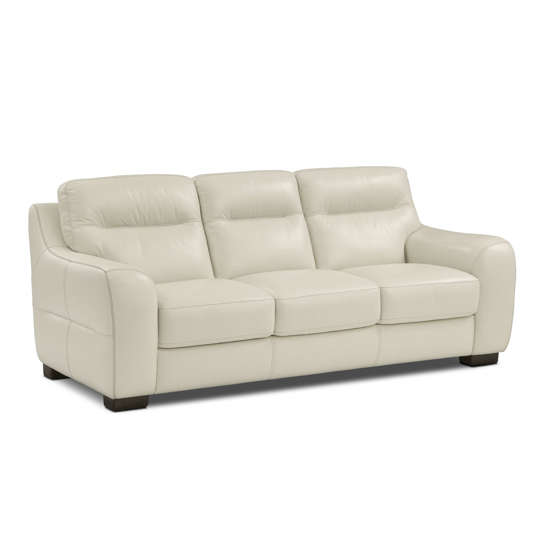 Living Room Furniture - Rocco Snow Sofa